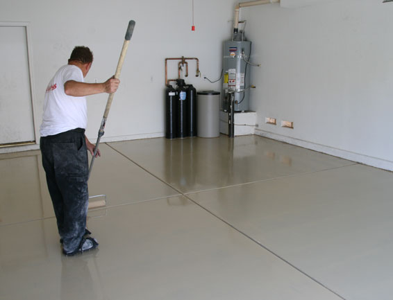 FLOOR EPOXY PROCESS