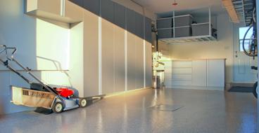 Meridian garage cabinets