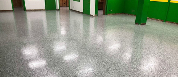 Epoxy Flake Basement