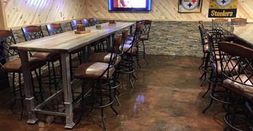 Restaurant Epoxy Floor